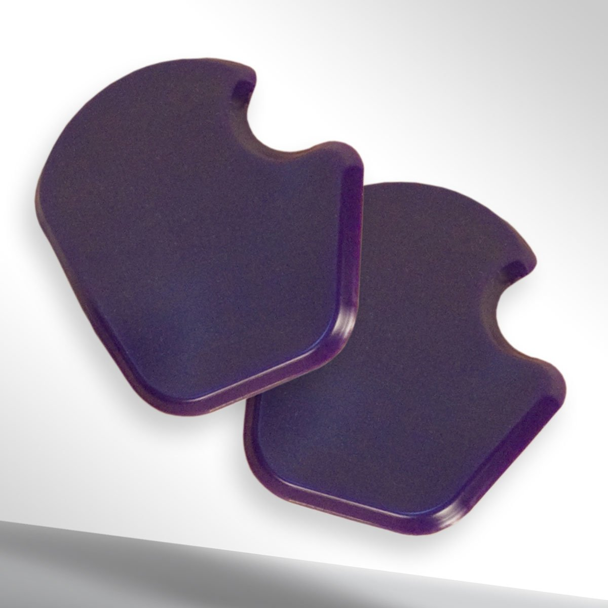 Reuseable gel dancer's pads
