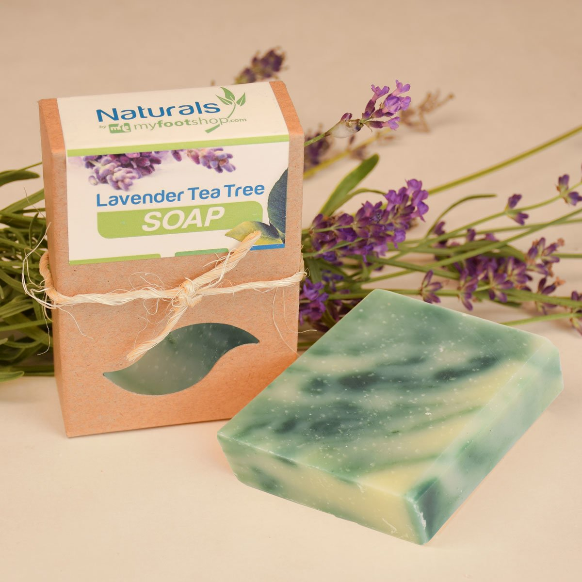Natural Antifungal Lavender Tea Tree Bar Soap