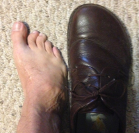 What's in your toe box?