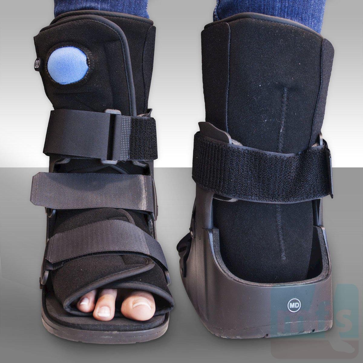 Low Top Pneumatic Walking Cast Myfootshop Com
