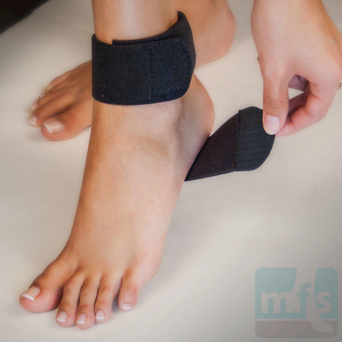 Achilles tendon support by pro tec myfootshop com