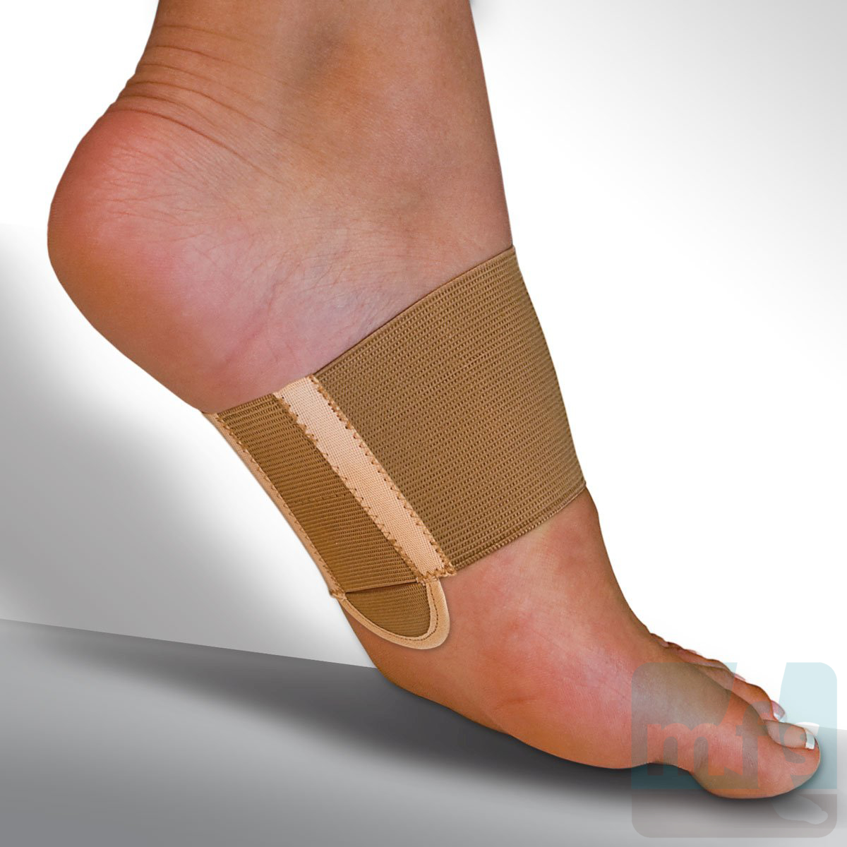 Metatarsal arch support pads