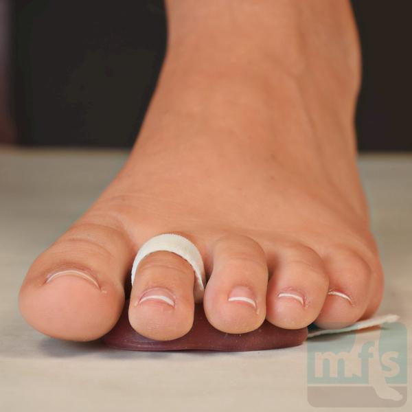 Picture of Hammer Toe Crest Pad - Adjustable Gel