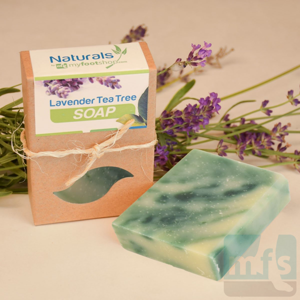 Picture of Natural Lavender Tea Tree Bar Soap