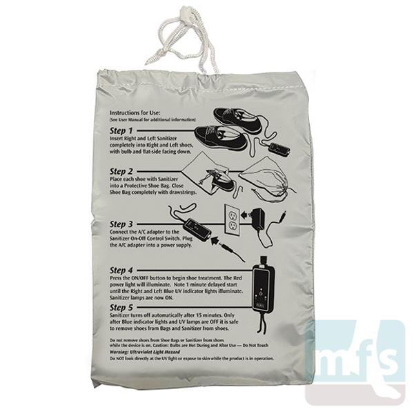 ShoeZap UV Bag