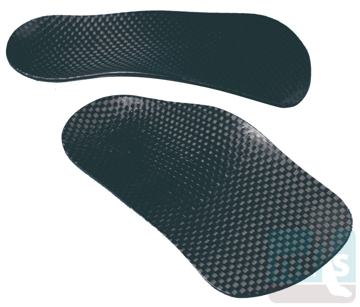 M1118 - Advantage Orthotics 3/4-Length Carbon Graphite Arch Supports