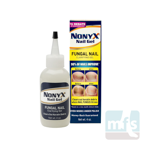 Nonyx® bottle and box