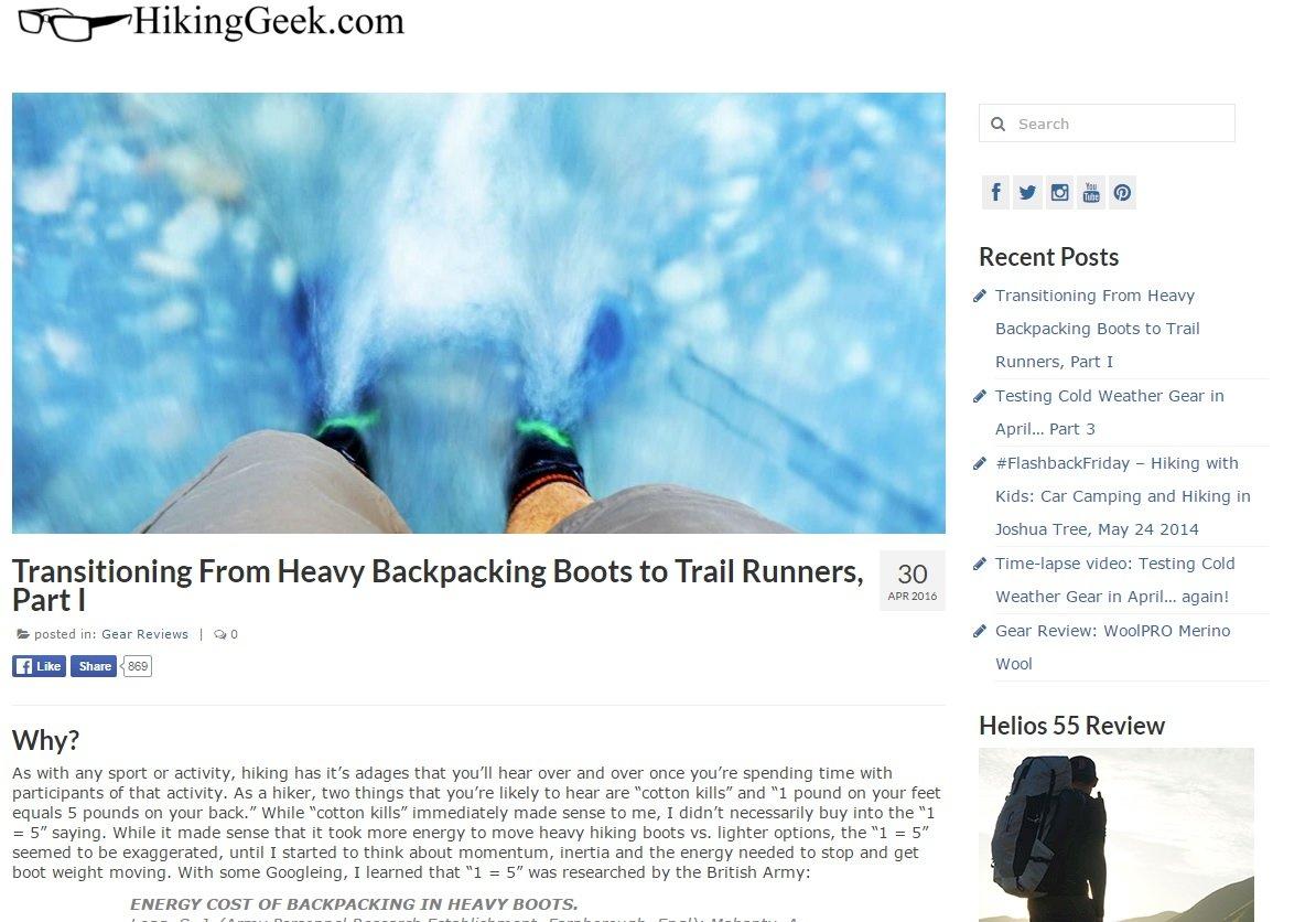 HikingGeek.com